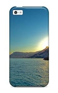1059655K83704967 Cute Appearance Cover/tpu Coastline Case For Iphone 5c