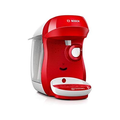 chollos oferta descuentos barato Bosch TAS1006 TASSIMO Happy Cafetera cápsulas 1400 W color rojo