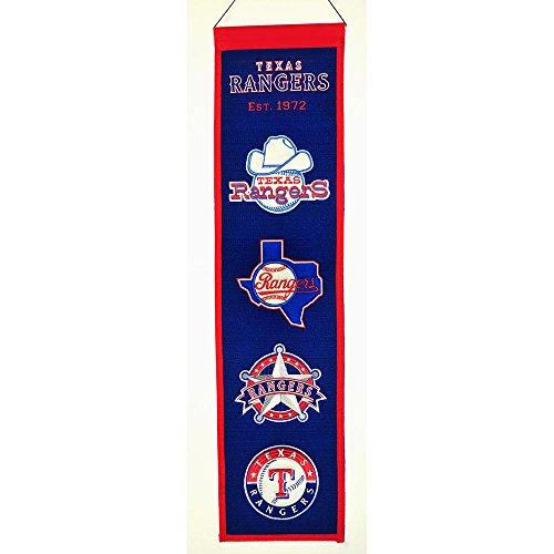 Texas Rangers Wool - Winning Streak MLB Sports Team Texas Rangers Heritage Banner