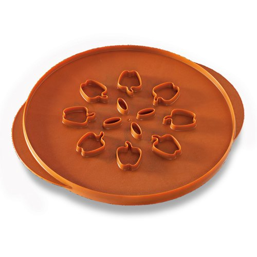 (Nordic Ware Reversible Apples & Leaves Pie Top Cutter)