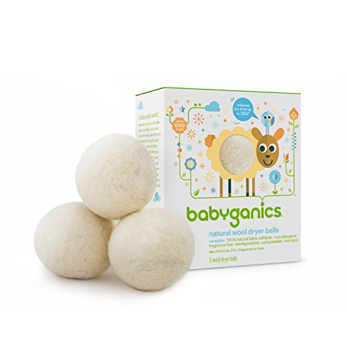 Babyganics Natural Wool Laundry Dryer Balls