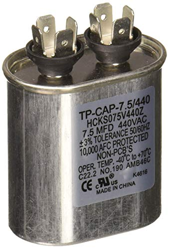 Carrier TP-CAP-7.5/440 Run Capacitor (York Capacitor)