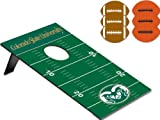 NCAA Colorado State Rams Throw Football Digital Print Bean Bag, One Size, Other
