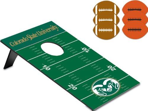 NCAA Colorado State Rams Throw Football Digital Print Bean Bag, One Size, Other