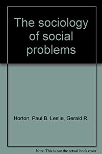 Paperback The sociology of social problems Book