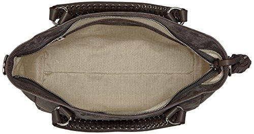 Bogner Corin - Borse a secchiello Donna, Grau (Ash), 14x31x30 cm (B x H x T)