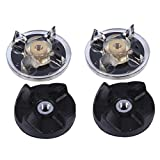 blender base - LONYE (Set of 2) 250W Base Gear & Blade Gear Replacement Part for Magic Bullet Blender MB1001