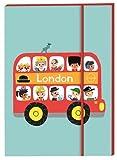 London Bus Notebook (Marion Billet's London Stationery Range)