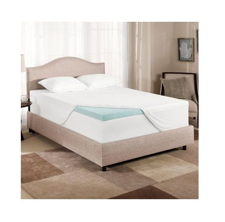 Novaform Gel Memory Foam 3 Inch Mattress Topper Full