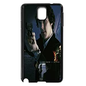 Good Quality Phone Case With HD Sherlock Images On The Back , Perfectly Fit To Samsung Galaxy Note 3