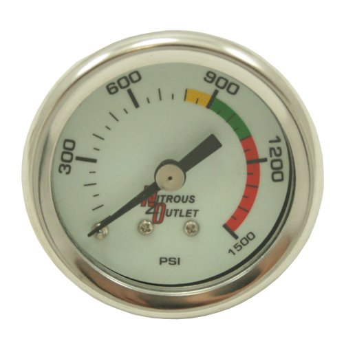 - Nitrous Outlet 00-63001 Nitrous Pressure Gauge