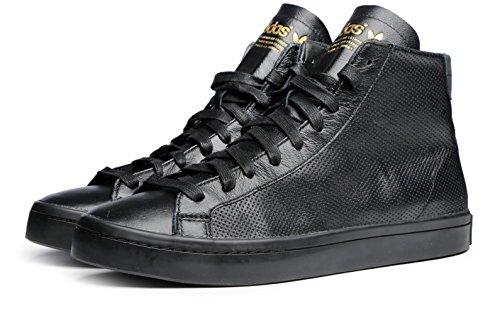 Hombre de Zapatillas Negro Negro Piel adidas para A0RxnqB