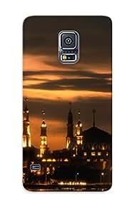 Exultantor Shock-dirt Proof Islanic Center Of Samarinda Case Cover Design For Galaxy S5 - Best Lovers