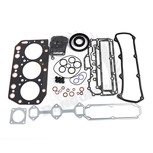 3TN100 3TN100E Engine Gasket Kit for Daewoo Takeuchi Loader Yanmar Engine  Aftermarket Parts