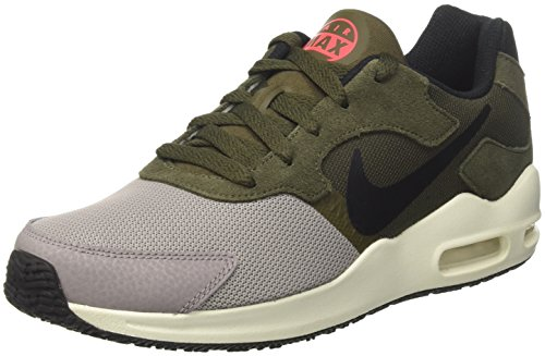 Nike Mens Air Max Guile Shoe, 916768-002 Dust/Black-cargo Khaki-solar Red