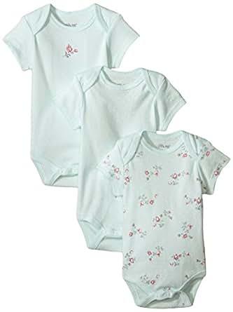 Amazon Little Me Girls 3 Pack Bodysuits Clothing