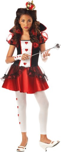 California Costumes Girls Tween Queen of Hearts Costume, -