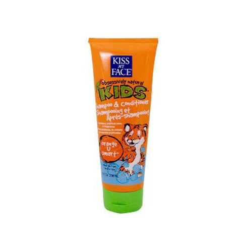 KISS MY FACE SHAMP&COND,2-IN-1,ORANGE, 8 FZ by Kiss My Face