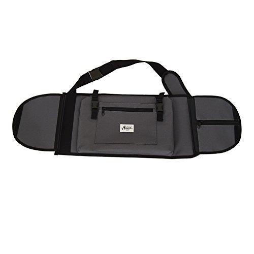 Rucksäcke für skateboard 7,5 - 8,5, in grau. Crossbody Hipster Rucksack Slingbag Crossbag Skaterrucksack Body Bag Hipster Style Umhängerucksack mit Ihren Individeullen