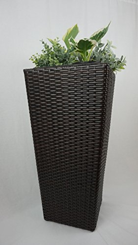 Standing All Weather Polyrattan Planter Decorative product image
