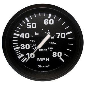 Euro Speedometer (The Amazing Quality Faria Euro Black 4