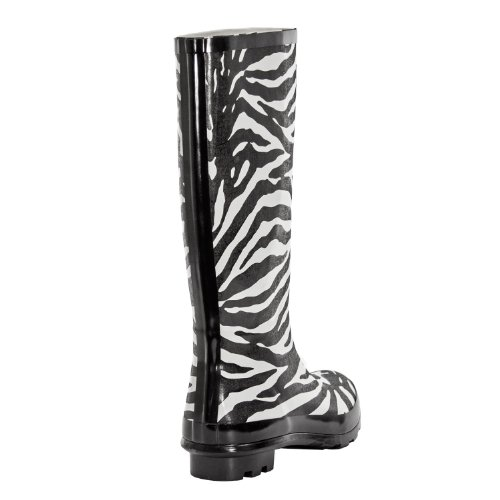 Evigt Unga - Womens Wellie Regn Boot Zebra