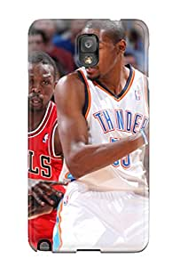 John B Coles's Shop oklahoma city thunder basketball nba chicago bulls NBA Sports & Colleges colorful Note 3 cases