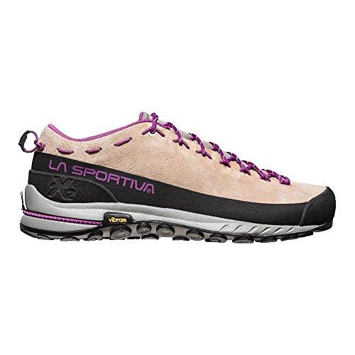 La Sportiva Tx2 Leather Woman, Zapatillas de Senderismo para Mujer Multicolor (Sand/Purple 000)