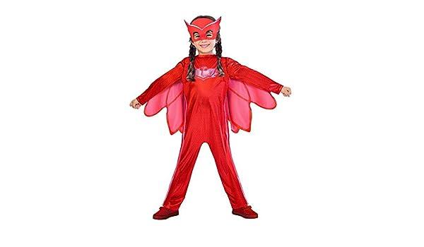 DISBACANAL Disfraz Buhita PJ Masks niña - Único, 5-6 años: Amazon.es: Juguetes y juegos