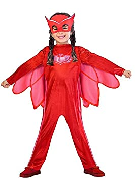 DISBACANAL Disfraz Buhita PJ Masks niña - Único, 3-4 años