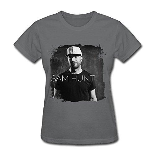 Masam Womens Sam Hunt Singer T Shirt M