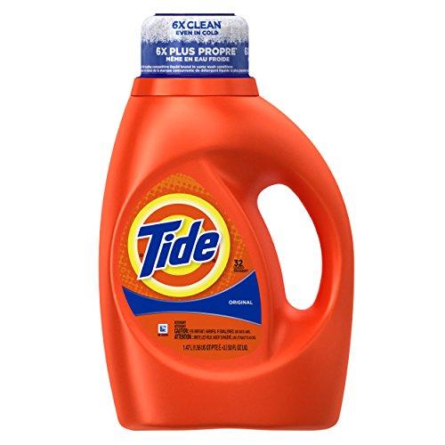 Tide Original Scent Liquid Laundry Detergent, 50 Fl Oz