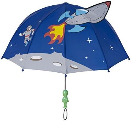 مظلة كيدورابل كيدز الفضائية لون أزرق مقاس واحد للأطفال الصغار والأطفال الكبار مظلة مقاومة للمطر خفيفة الوزن بحجم الأطفال Amazon Ae