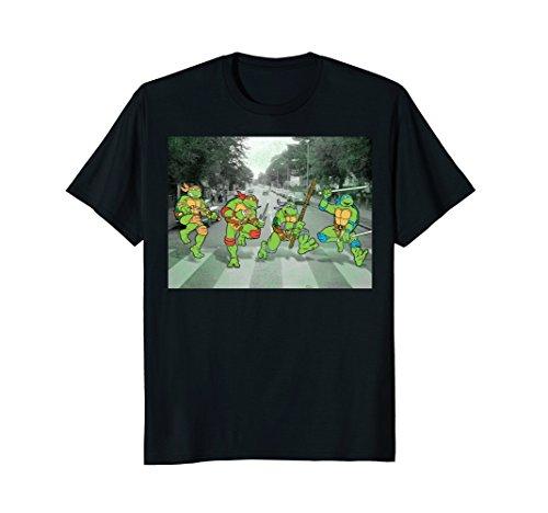 Men or Women's Turtles Crossing Abbey Road Crossing T-shirt