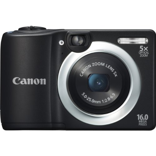 POWERSHOT A1400 16.0MP 5X OPT 2.7IN LCD 720P HD KIT