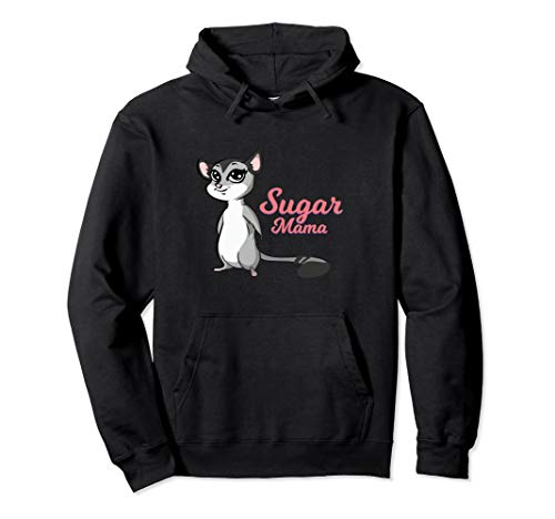 Sugar Glider Mama Hoodie I Pet Owner -