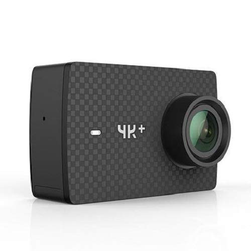 YI 4K+ Action Camera, Sports Cam with 4k/60fps Resolution, EIS, Live Stream, Voice Control, 12MP Raw Image