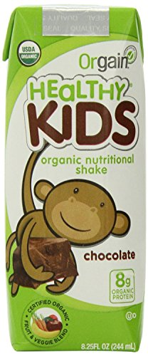 Protein Shakes for Kids by Orgain, 8.25 oz, (12 Count)