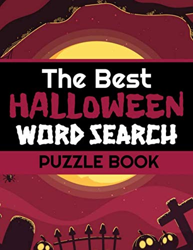 Challenging Halloween Dot To Dots (The Best Halloween Word Search Puzzle Book: 40 Large Print Challenging Puzzles About Monsters, Bats, Witches, Ghouls, Jack-O-lantern & more | Gift for Word Puzzles)