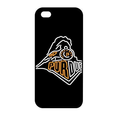 NCAA Design Purdue Boilermakers Smart Phone Cover Cases for iPhone 6 - iPhone 6S 4.7 Inch - Black Casing for iPhone 6 - iPhone 6S 4.7 - Boilermakers Case Phone Cell
