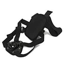 SODIAL(R) Dog Fetch Hound Harness Chest Strap Belt Mount for GoPro Camera Hero 4 3+ 3 2 1