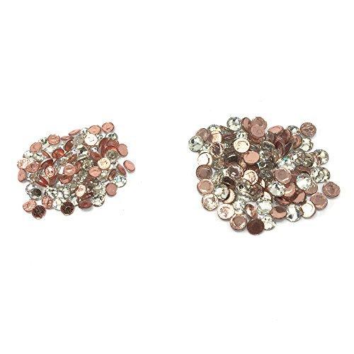 (Wholesale Lot 288 pcs Mix ss16 ss12 #2028 Swarovski Crystal HOTFIX Flatback Rhinestone Xilion Rose. CRYSTAL CLEAR)