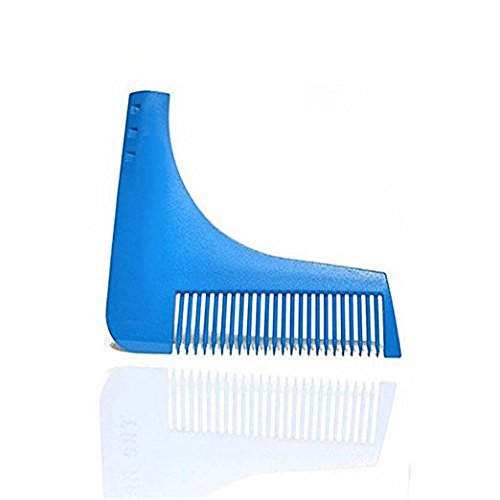 Men Beard Styling, Men Beard Styling & Shaping Template Comb Trim Tool Perfect for Lines