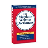 MER930 - Merriam Webster Merriam-Webster Paperback Dictionary 11th EditionDictionary Printed Book - English