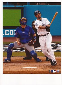 Mike Lowell Unsigned 8x10 Photo Florida ()