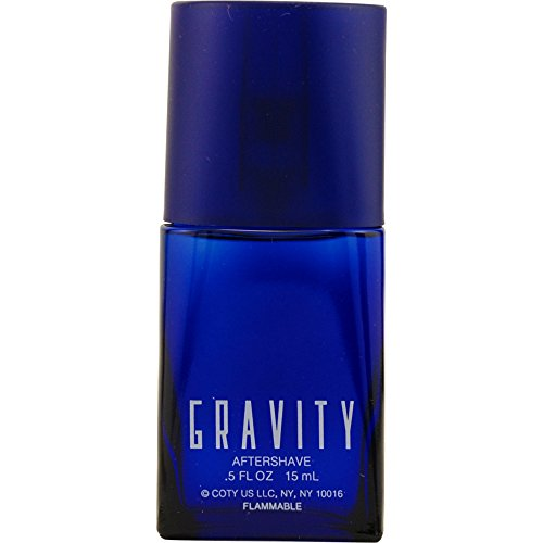 GRAVITY by Coty AFTERSHAVE .5 OZ for MEN ---(Package Of 5)