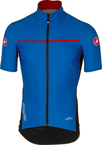 Castelli Perfetto Light Short-Sleeve Jersey - Men's Surf Blue, ()
