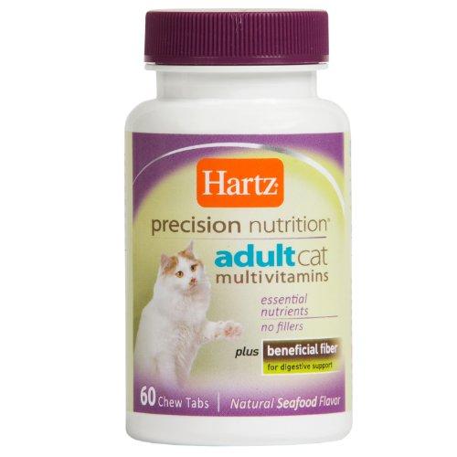 Hartz Precision Nutrition Adult Cat Multivitamins, 60 Chew Tabs, My Pet Supplies
