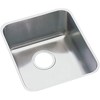 Captivating Elkay Lustertone ELUHAD161645 Single Bowl Undermount Stainless Steel ADA  Kitchen Sink
