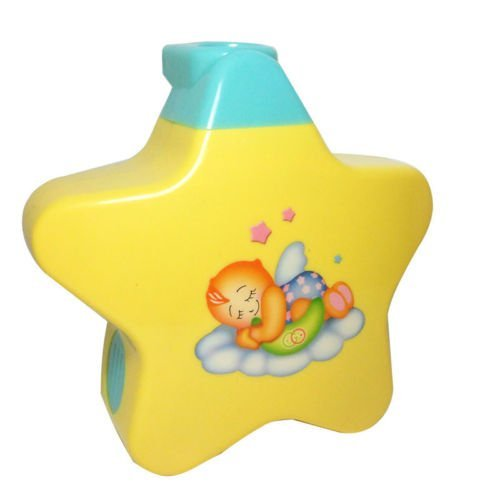SuperToy(TM) Sleeping Star Projector with Star Light and Music for New Born